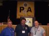 Local 101-Jackson - Delegate Dan Gregurich, Recording Secretary Dennis Parshall, President Denny Leutz