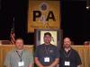 Local 150-Kalamazoo - Secretary-Treasurer Vince Rogers, President Bob Ritsema, Chris Collier